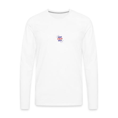 Veni - Maglietta Premium a manica lunga da uomo