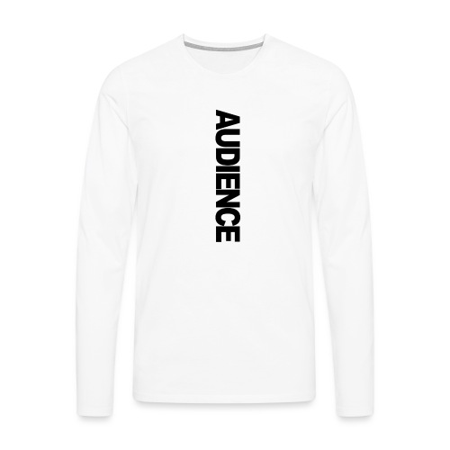 audienceiphonevertical - Men's Premium Longsleeve Shirt