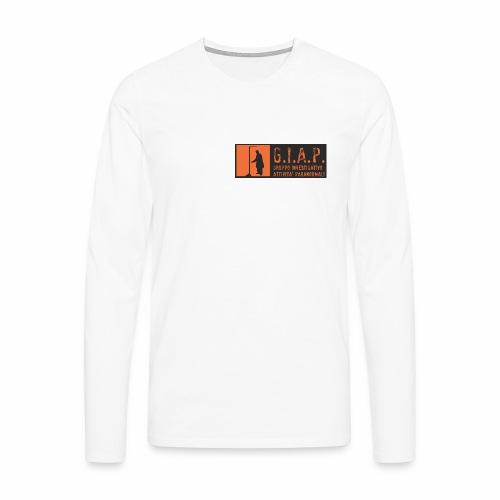 logo giap orange jpg - Maglietta Premium a manica lunga da uomo