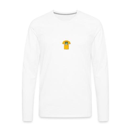 Castle design - Herre premium T-shirt med lange ærmer