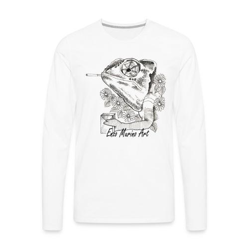 Came la clope - T-shirt manches longues Premium Homme
