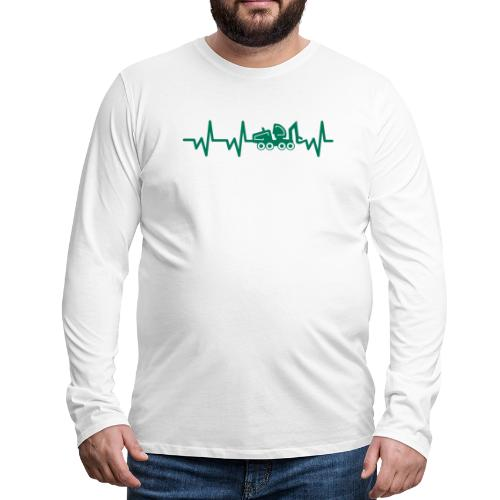 Forst   Herzschlag - Männer Premium Langarmshirt