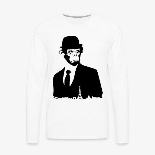 COLLECTION *BLACK MONKEY PARIS* - T-shirt manches longues Premium Homme