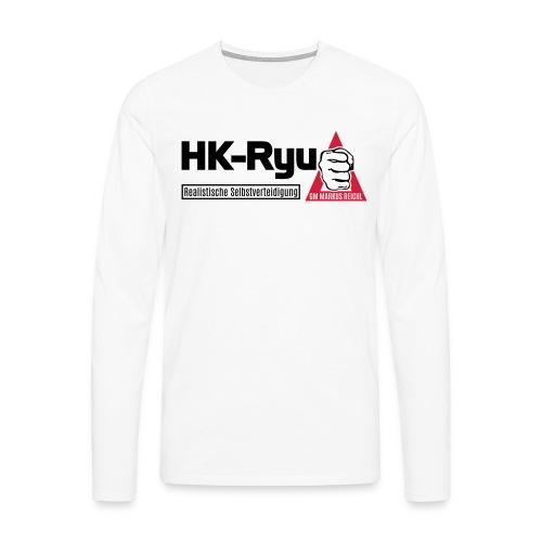 HK-RYU Basic - Männer Premium Langarmshirt
