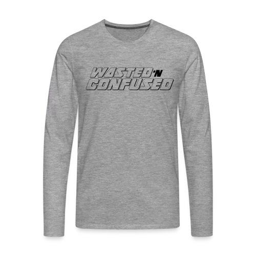 OFFICIAL WNC MERCHANDISE (wit) - Mannen Premium shirt met lange mouwen