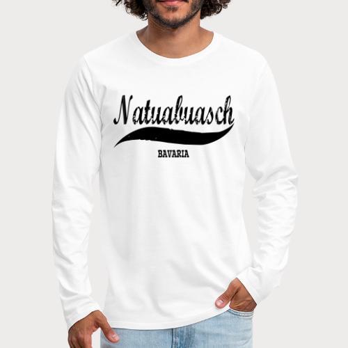 NATUABUASCH BAVARIA - Männer Premium Langarmshirt