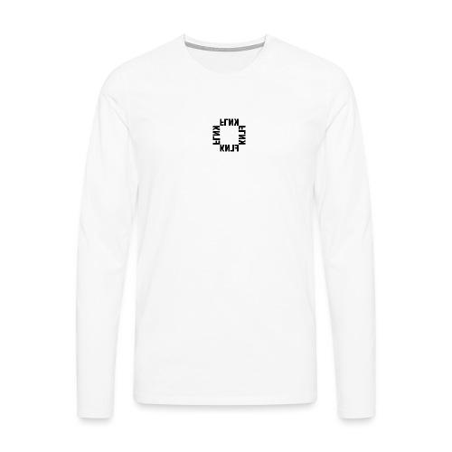 FLNKquadrat2 - Männer Premium Langarmshirt