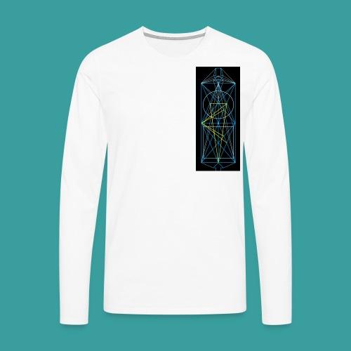 simmetria intelletuale - Maglietta Premium a manica lunga da uomo