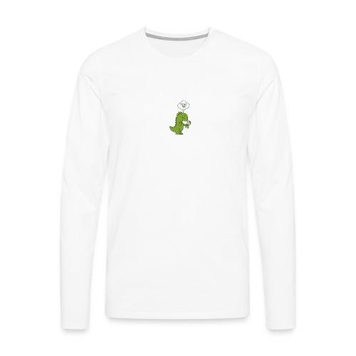 Bio-Dinosaurier - Männer Premium Langarmshirt