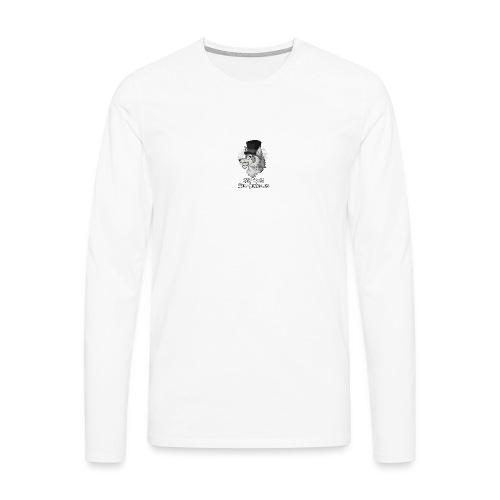 Half Wolf Half Gentleman - Men's Premium Longsleeve Shirt