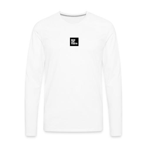 NLY LOGO - Mannen Premium shirt met lange mouwen