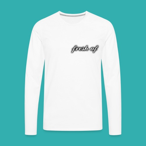 fresh af - Men's Premium Longsleeve Shirt