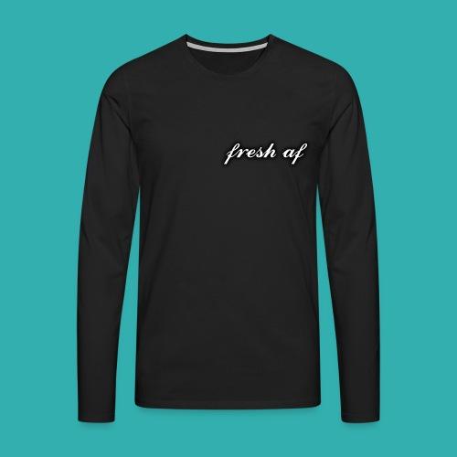 fresh af - Men's Premium Longsleeve Shirt
