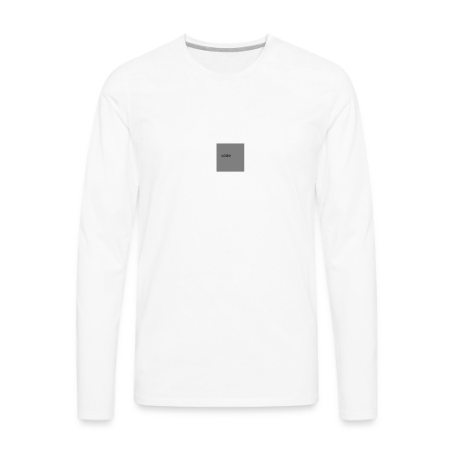 Logo-png - Koszulka męska Premium z długim rękawem