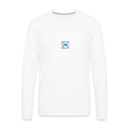 mijn logo - Mannen Premium shirt met lange mouwen