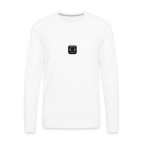 Gym squad t-shirt - Men's Premium Longsleeve Shirt