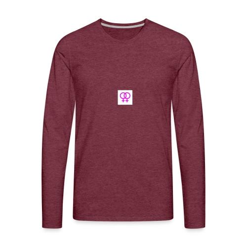 lesbian logo - T-shirt manches longues Premium Homme