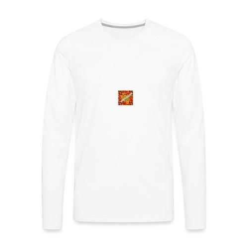 sverimasken2 - Långärmad premium-T-shirt herr