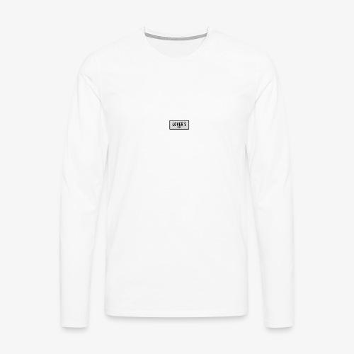 LOVER'S - T-shirt manches longues Premium Homme