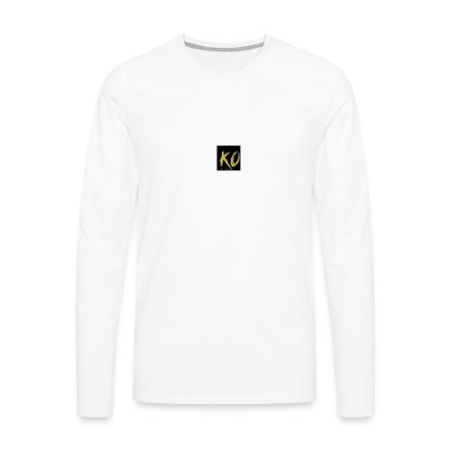 k.o-ousmanekebe - T-shirt manches longues Premium Homme