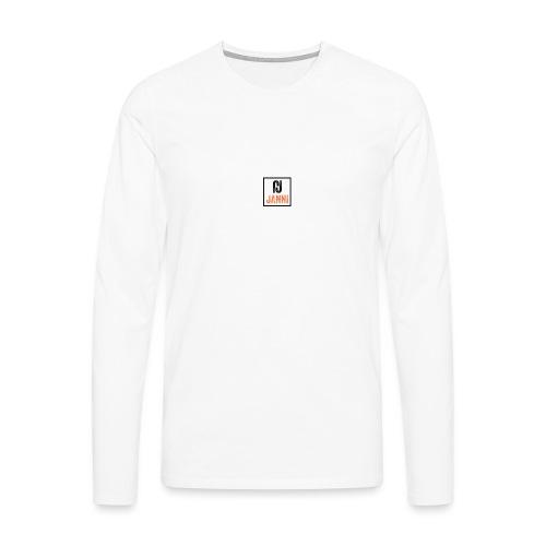 Janni - Herre premium T-shirt med lange ærmer