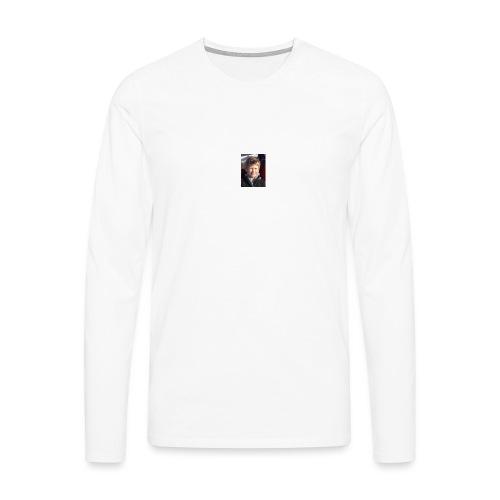 300 - Premium langermet T-skjorte for menn