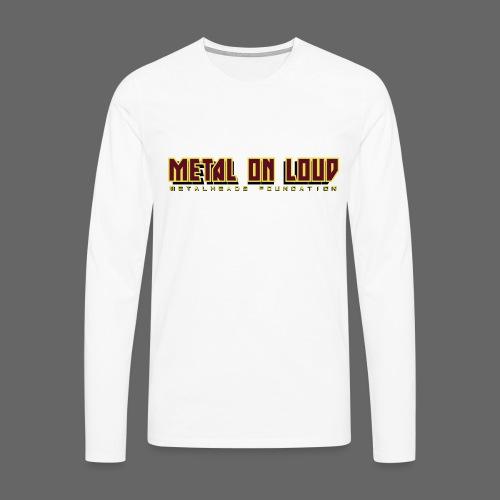 MOL Letter Logo Randy - Men's Premium Longsleeve Shirt