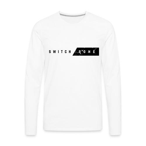 Switchbone_black - Mannen Premium shirt met lange mouwen