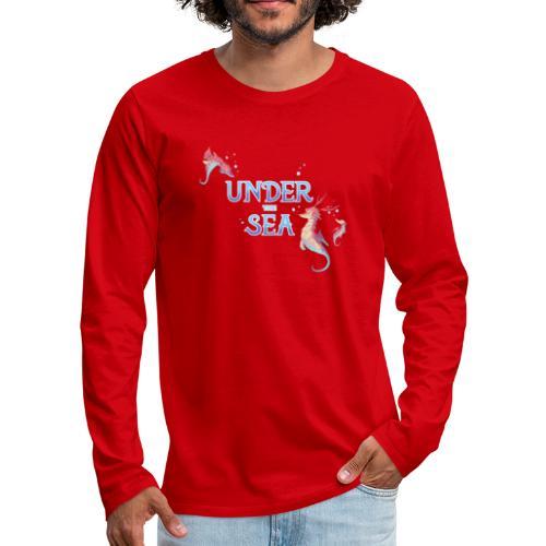 Under the Sea - Seahorses - Men's Premium Longsleeve Shirt