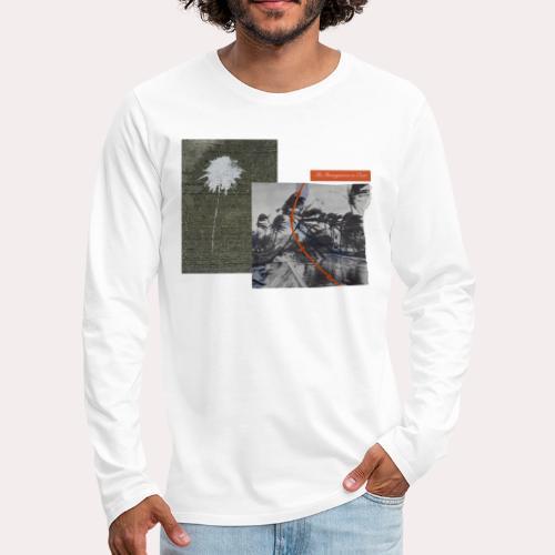 """THE HONEYMOON IS OVER"""" VANGSGAARD & WORSOE - Herre premium T-shirt med lange ærmer"""