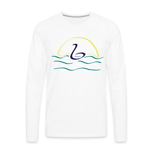 Swan - Mannen Premium shirt met lange mouwen