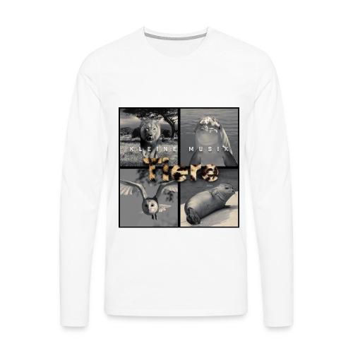 Tiere Cover jpg - Männer Premium Langarmshirt