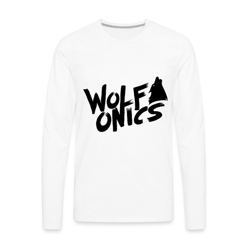 Wolfonics - Männer Premium Langarmshirt