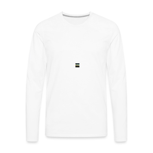 emilking44gaming youtube logo - Långärmad premium-T-shirt herr