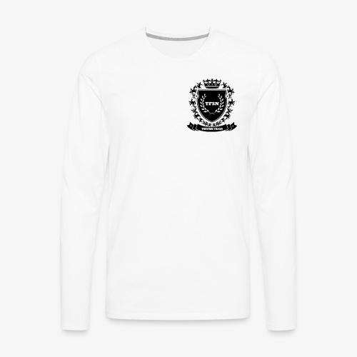 Trzymaj Fason - Koszulka męska Premium z długim rękawem