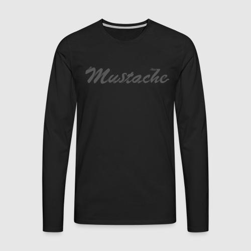 Black Lettering - Men's Premium Longsleeve Shirt