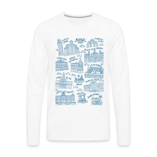 MADRID MONUMENTAL - Camiseta de manga larga premium hombre