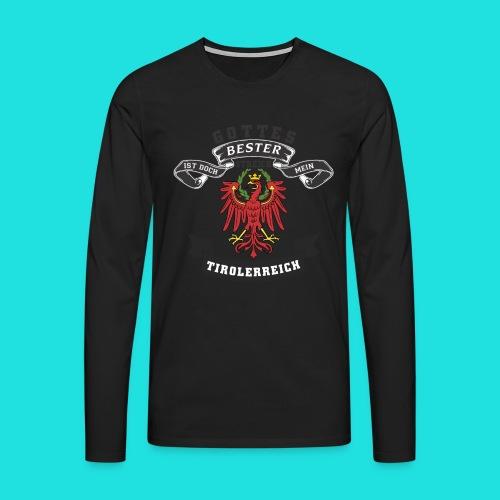 Tiroler - Männer Premium Langarmshirt