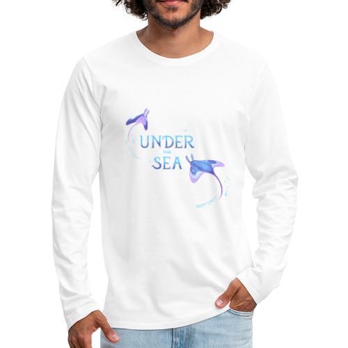 Under the Sea Mantas - T-shirt manches longues Premium Homme
