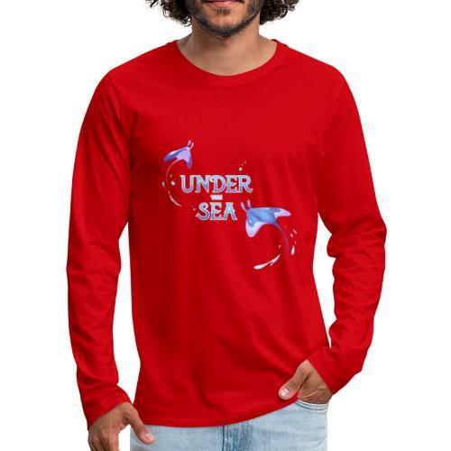Under the Sea Mantas - Men's Premium Longsleeve Shirt