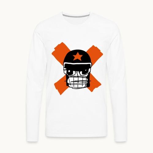 Motard Micky Biker - T-shirt manches longues Premium Homme