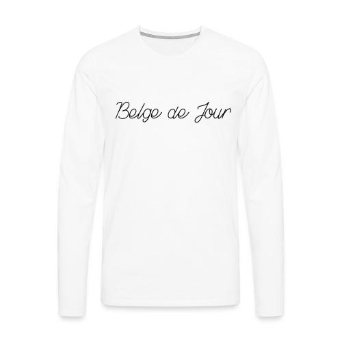 Belge de jour - T-shirt manches longues Premium Homme