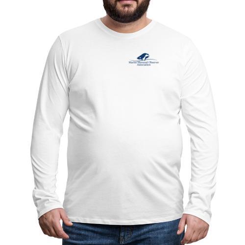 Environmental Advisor identifer MMOA logo blue - Men's Premium Longsleeve Shirt