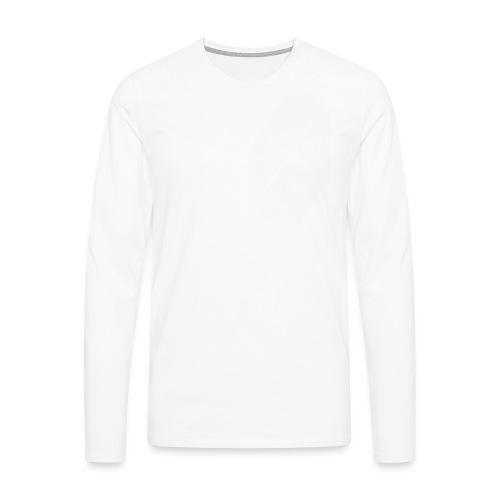 tshirtwhitelogoright - Men's Premium Longsleeve Shirt