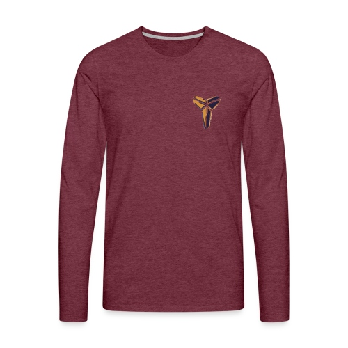 BlackMamba - Långärmad premium-T-shirt herr