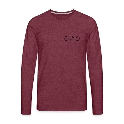 oito - Långärmad premium-T-shirt herr