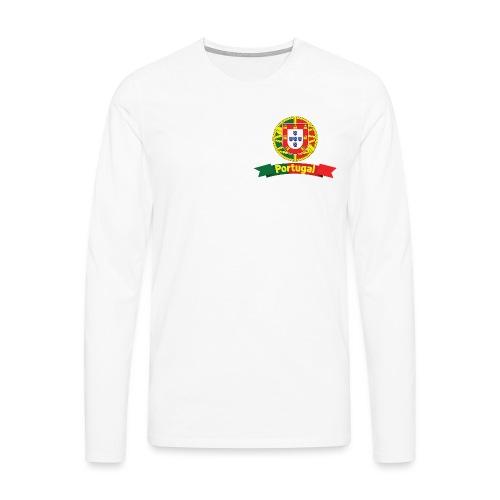 Portugal Campeão Europeu Camisolas de Futebol - Men's Premium Longsleeve Shirt