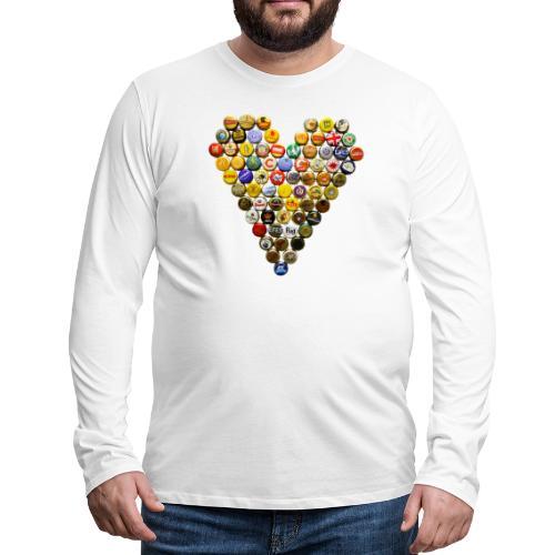 LOVERZ GONNA LOVE bière - T-shirt manches longues Premium Homme