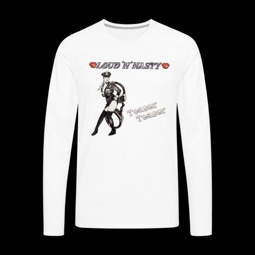 Teaser-Teaser - Långärmad premium-T-shirt herr