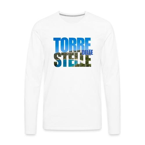TorreTshirt - Maglietta Premium a manica lunga da uomo